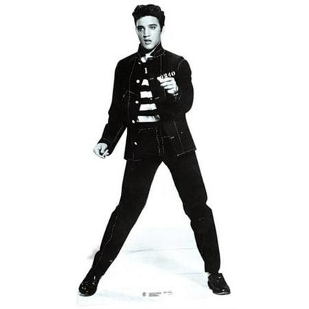 (Elvis Jailhouse Rock Cardboard Cutout - 70 x 37 x 1 in.)