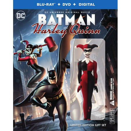 Batman and Harley Quinn (Limited Edition Gift Set) (Blu-ray + (Batman The Animated Series Episodes With Harley Quinn)