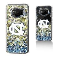 UNC North Carolina Tar Heels Confetti Glitter Case for Galaxy S8