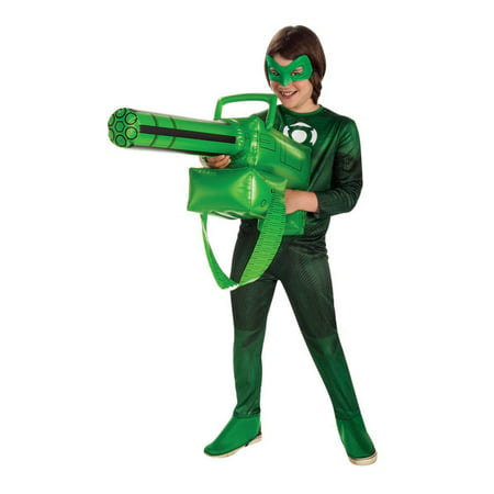 Inflatable Gatling Gun Accessory - Green Lantern](Green Inflatable Costume)