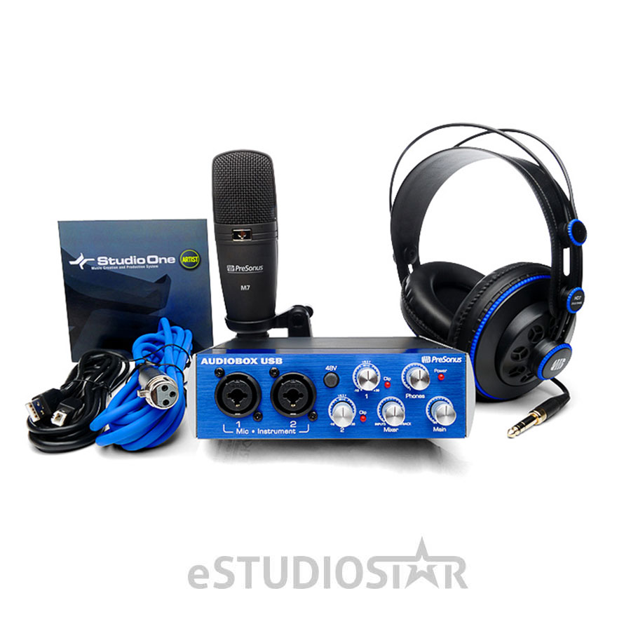 PreSonus AudioBox 96 Studio Complete Recording Package