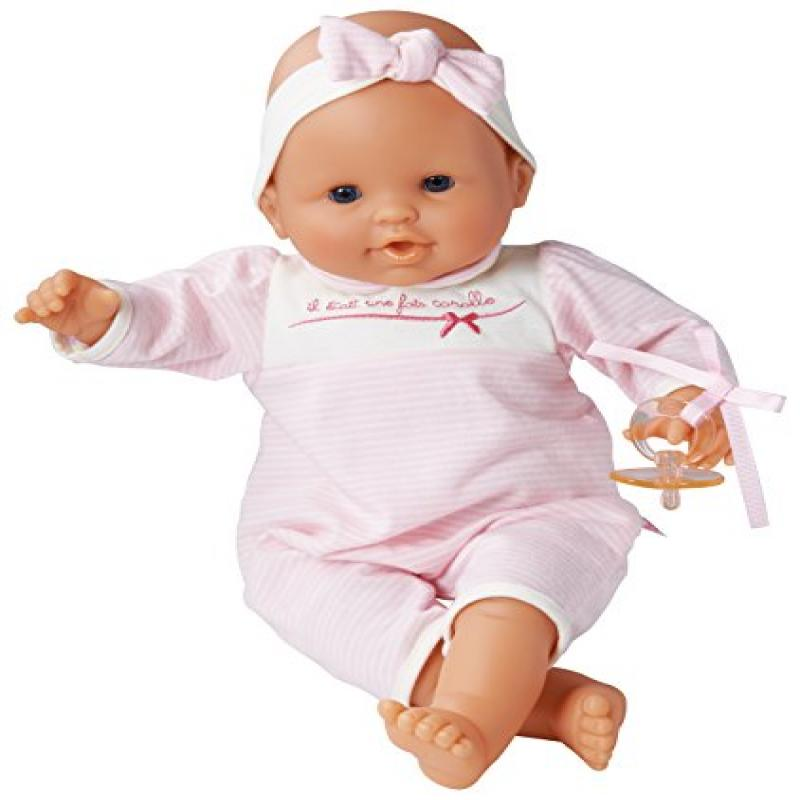 Corolle Les Classiques Suce Pouce Pink Stripes Baby Doll Styles may vary by