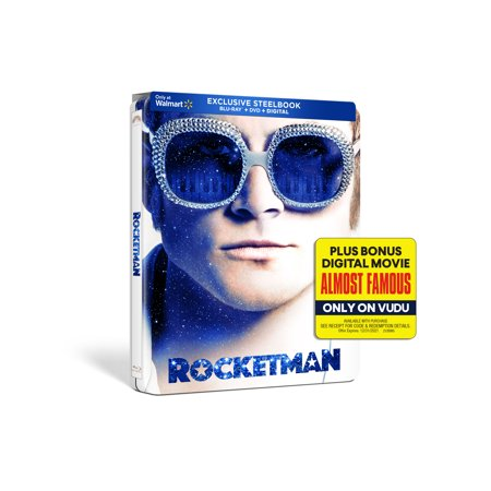 Rocketman (Walmart Exclusive) (Steelbook Blu-ray)