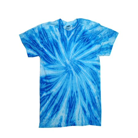Tie Dye T-Shirts Neon Twist Adult Sizes Multi Colors 100% Cotton T-Shirt