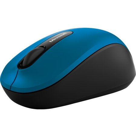 Microsoft 3600 Bluetooth Mobile Mouse Blue - BlueTrack enabled - Wireless Bluetooth Connectivity - Blue - 4 Total Buttons - 1000 dpi resolution