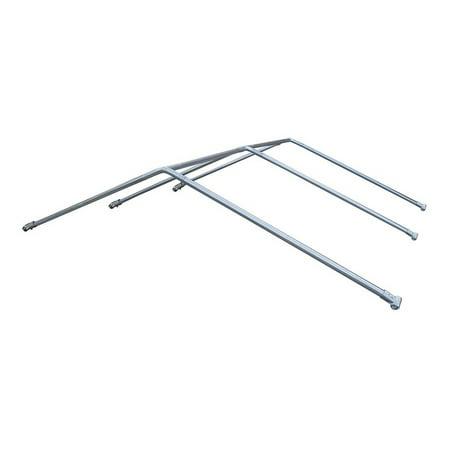 ALEKO Galvanized Steel Chain Link Dividable Dog Kennel Roof Frame - 10 x 10