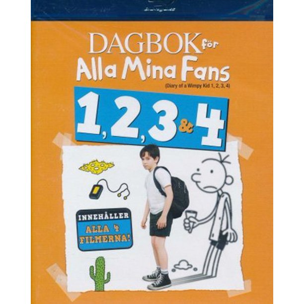 Diary Of A Wimpy Kid 1 4 4 Disc Set Diary Of A Wimpy Kid Diary