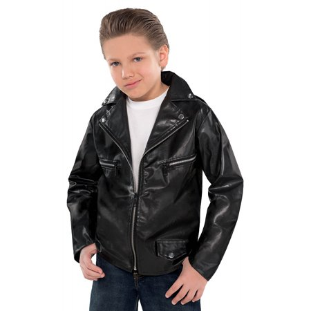 Greaser Jacket Child Costume - One Size (Greaser Jacket Costume)