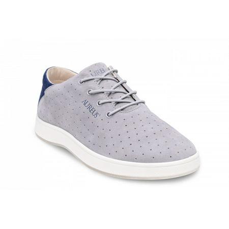 Aureus Mens Maximus Silver Sneakers 9 M Us