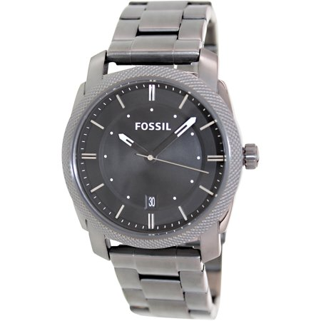 Fossil Men's Machine FS4774 Grey Stainless-Steel Quartz Fashion Watch