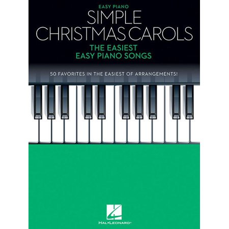 Simple Christmas Carols: The Easiest Easy Piano Songs (Paperback) ()