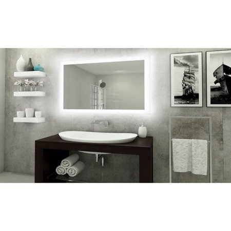 Orren Ellis Bones Backlit LED Bathroom/Vanity Mirror