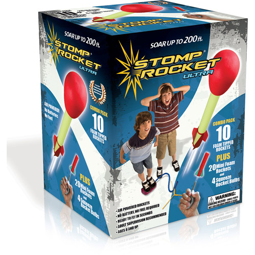 Ultra Stomp Rocket Combo Pack by D & L Company