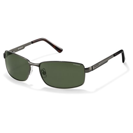 P4416/S 0A3X RC Gunmetal 63mm Polaroid P4416/S Rectangle Man Polarized (Sunglasses Male)