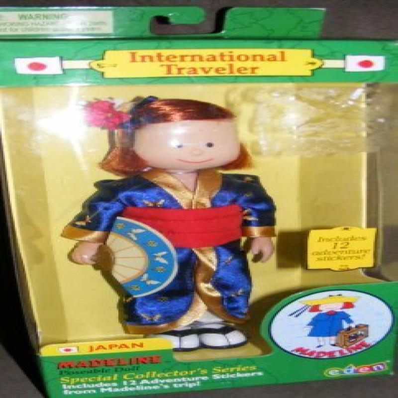 Madeline Doll Japan International Traveler by
