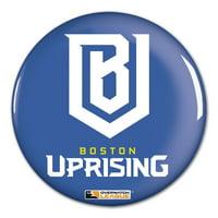 "Boston Uprising WinCraft Team Logo 3"" Button Pin - No Size"