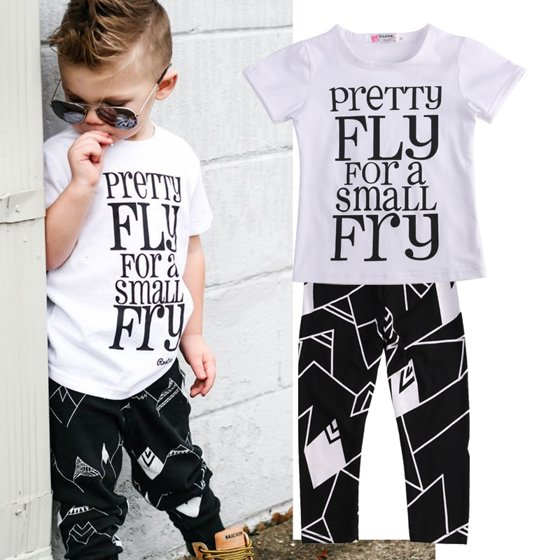 0faf262fac3 Gaono - Summer Toddler Kids Baby Boy Outfits Short Sleeve T-Shirt Top+Pants  Clothes Set - Walmart.com