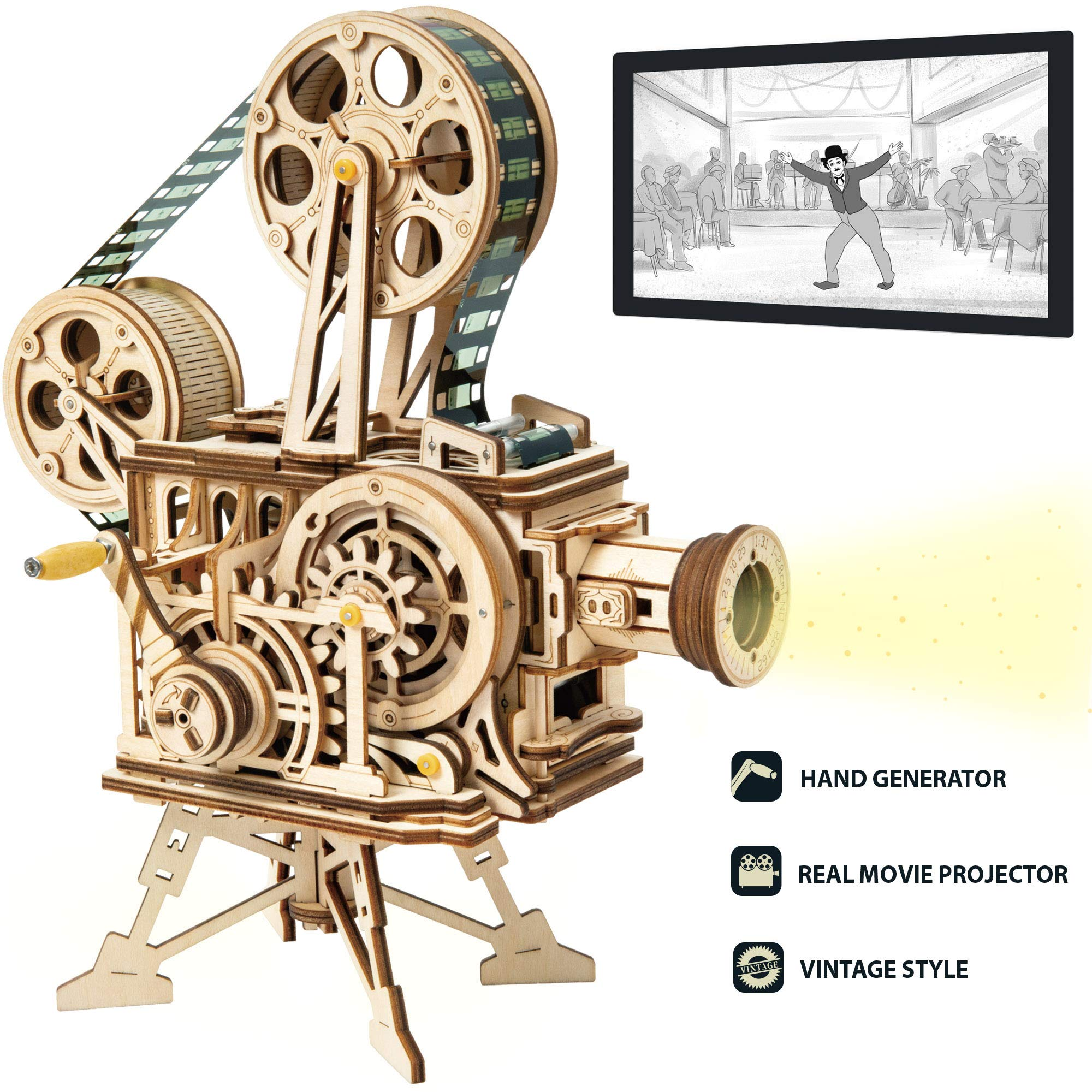 AM002 Wooden Mechanical Models Kits Catapult Ancient