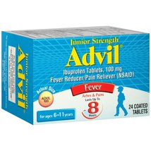 Pain Relievers: Advil Junior Strength Tablets