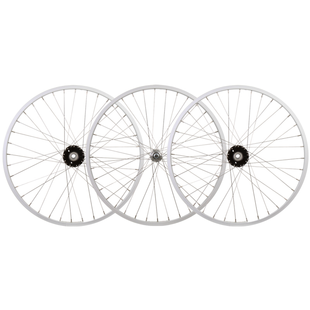 Wheelset 24X1.75 Alloy Silver 36 Trike 15mm w/Bearings