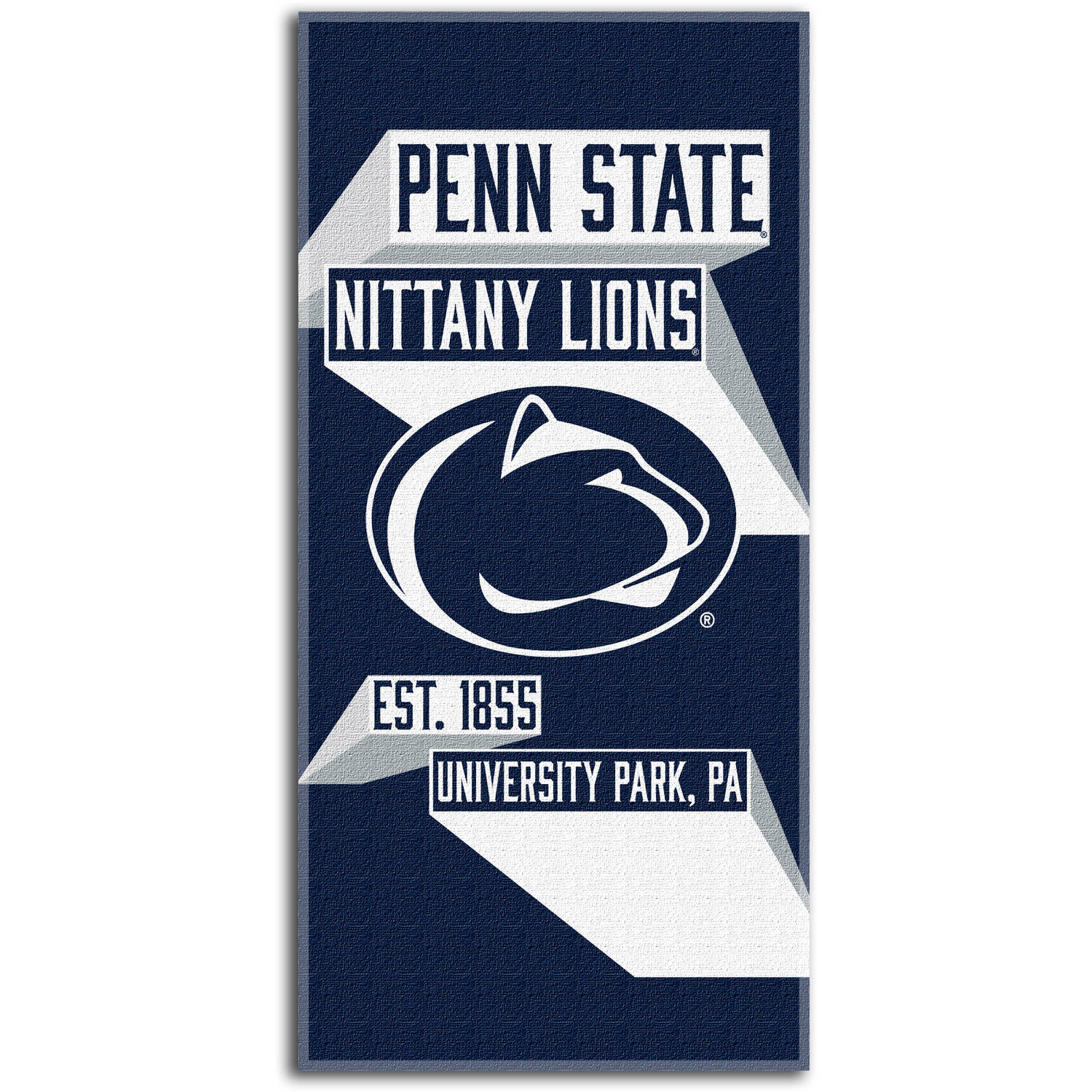 "NCAA ""Head Strong"" 30"" x 60"" Beach Towel, Penn State Nittany Lions"