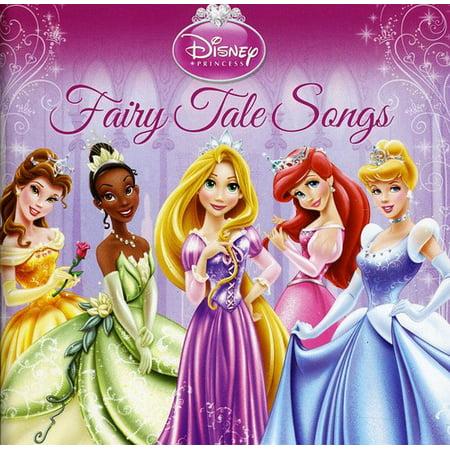 Disney Halloween Music Cd (Disney Princess: Fairy Tale Songs)
