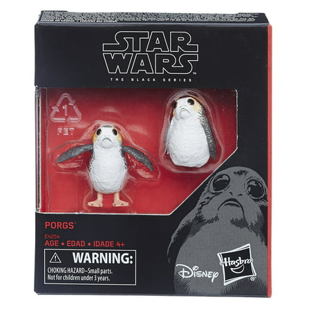 Mens Black Figure - Porgs Star Wars Black Series 6 Inch Scale Figure