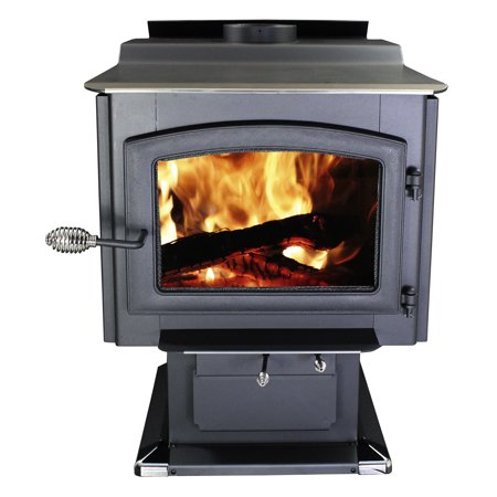 Wood Stove Blower - Ponderosa 2,000 Sw. Ft. EPA Certified Wood Stove with Blower