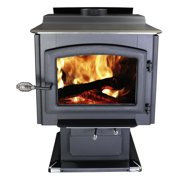 Ponderosa 2,000 Sw. Ft. EPA Certified Wood Stove with Blower