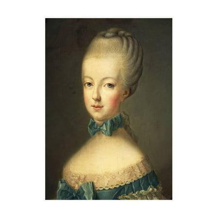 Marie Antoinette Shoes For Sale (Portrait of Marie Antoinette Print Wall Art By Jean-Baptiste)