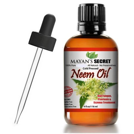 Neem Oil USDA Certified Organic Cold Press, Unrefined for Skincare, Hair Care, and Natural Bug Repellent