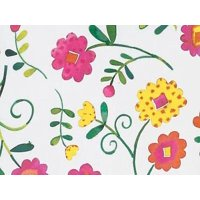 "1 Unit Bright Blooms 24""x417' Gift Wrap Counter Roll Unit pack 1"