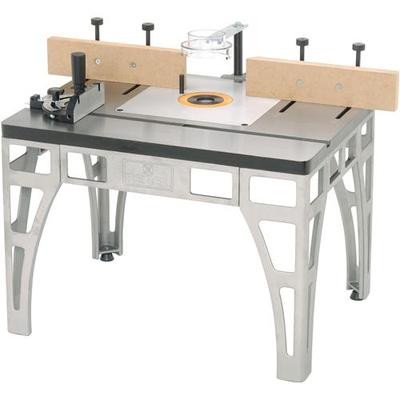 Heavy Duty Cast Iron Steel Metal Router Table Wood Shaper Shaping Tool Stand - Router Table Shaper