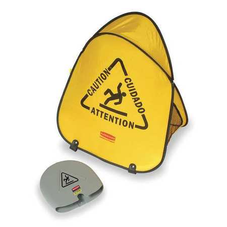 Rubbermaid Folding - RUBBERMAID folding safety cone,20