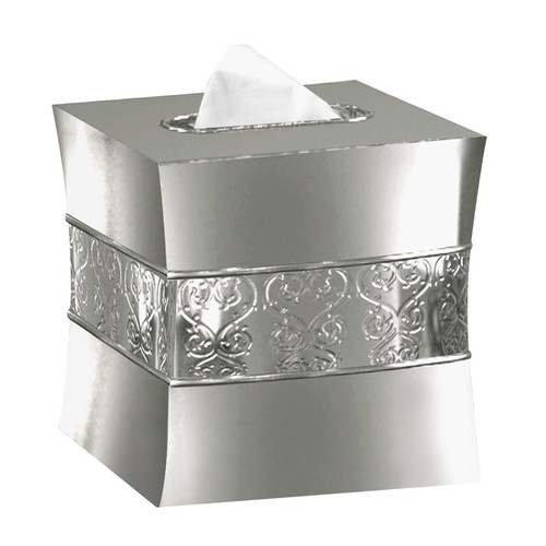 NU Steel Boutique Tissue Box Cover