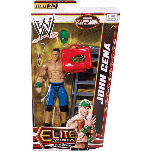 Mattel WWE Elite Series John Cena Action Figure