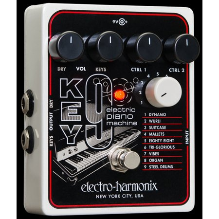 Electro Harmonix KEY 9 Electric Piano Machine KEY9 Guitar Pedal EHX - Part Number: