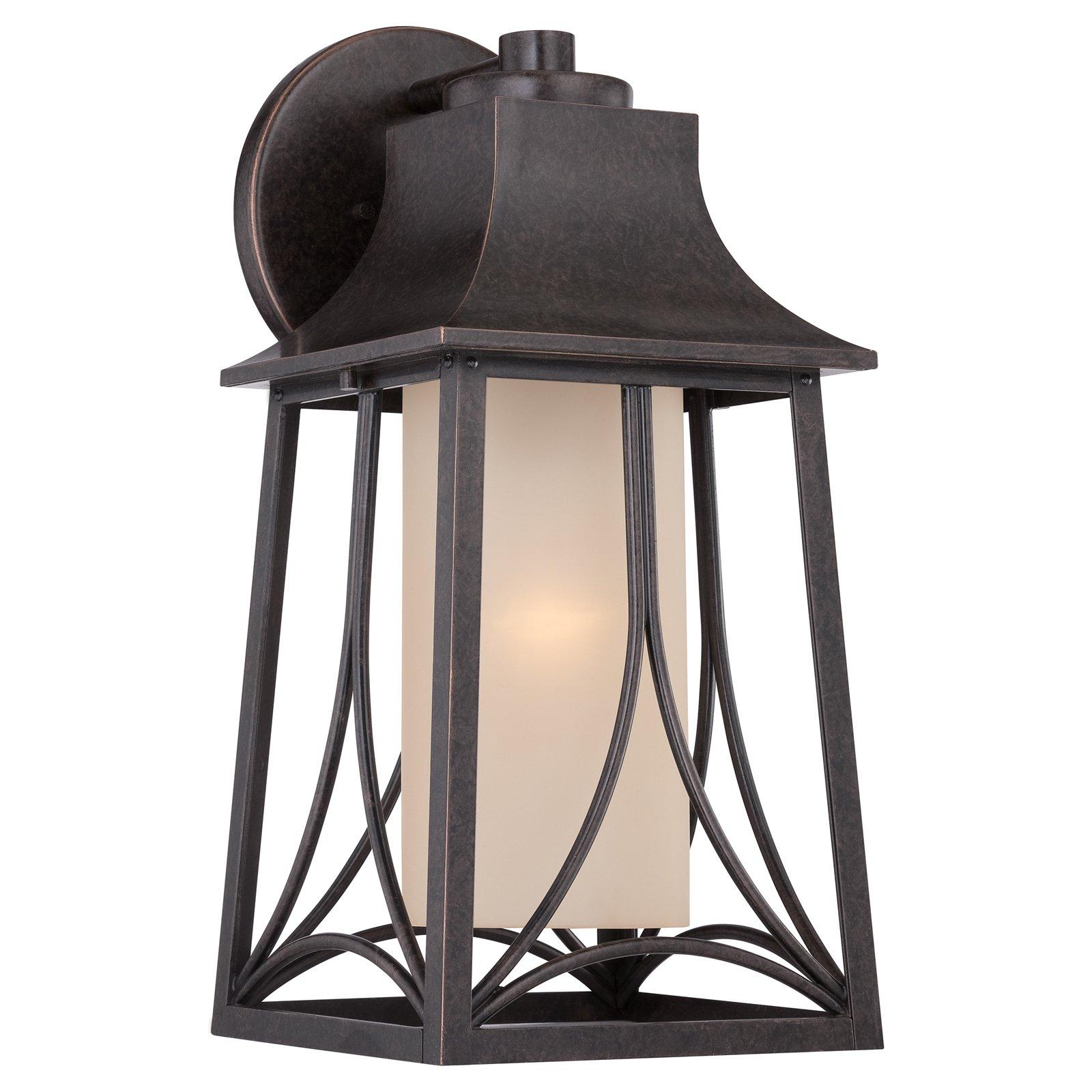 Quoizel Hunter HTR8408IB Outdoor Wall Lantern