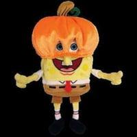 Ty Beanie Babies - SpongeBob PumpkinMask