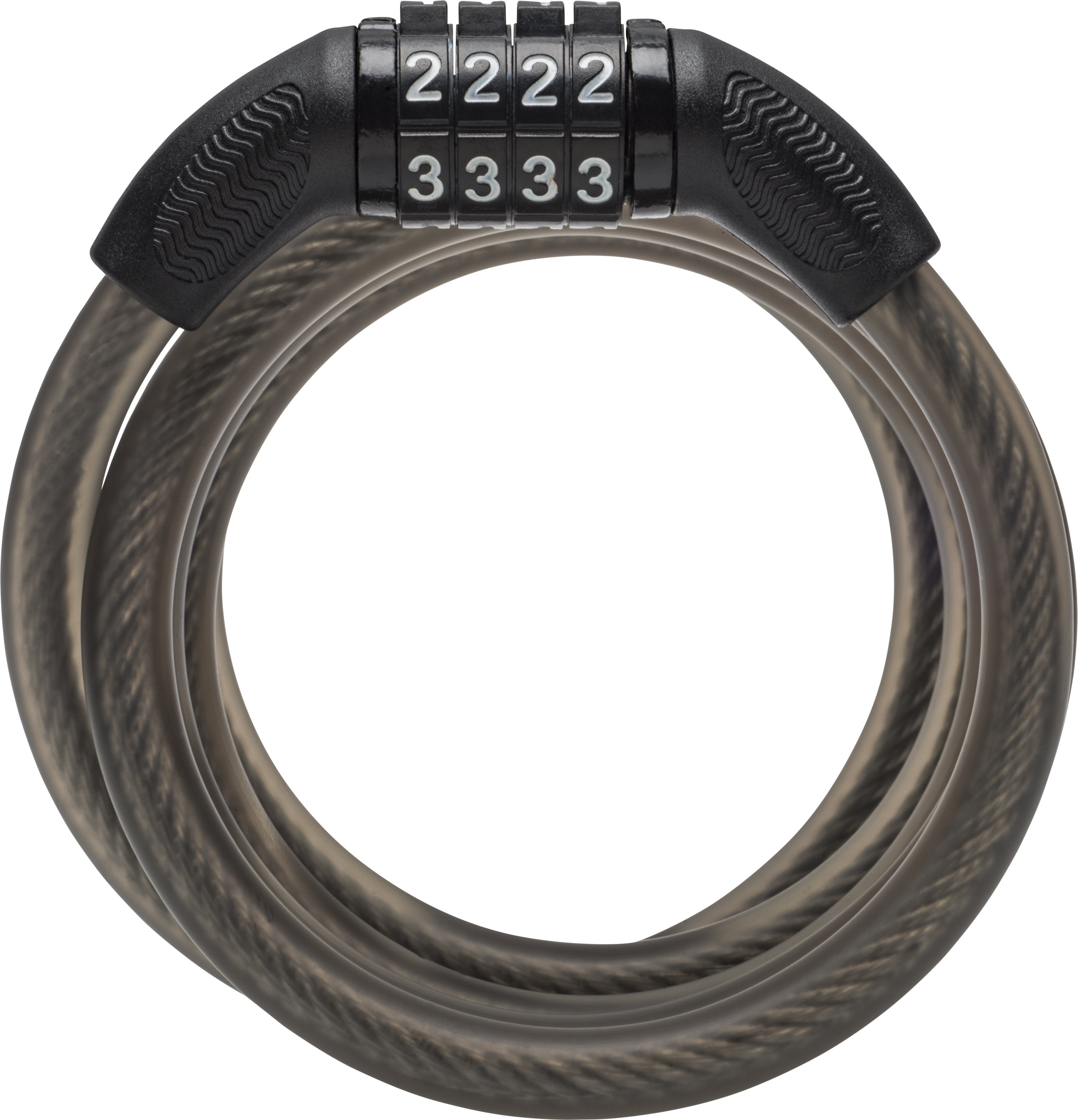 Details about  /COMBINATION NUMBER CODE BIKE BICYCLE CYCLE LOCK 8MM BY 650MM STEEL CABLE RED