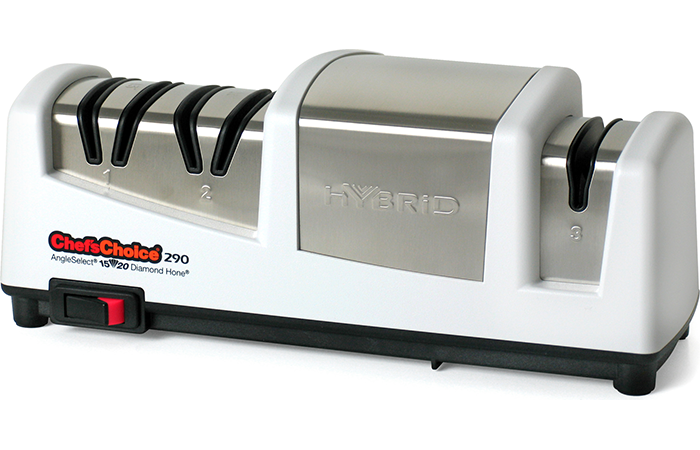 Chef's Choice 290 Hybrid Angle Select Knife Sharpener White 0290100 by