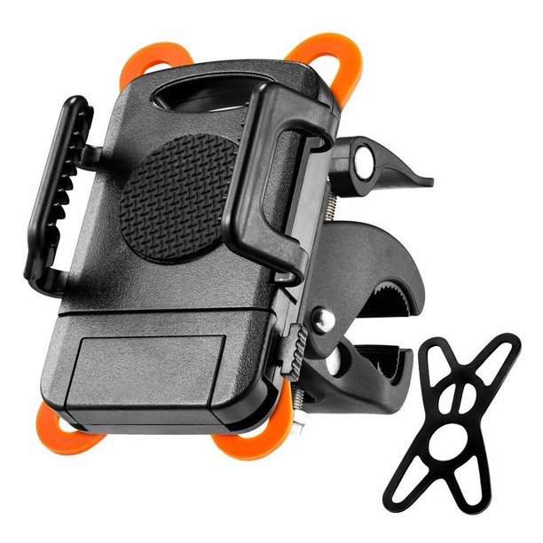 Bike Mount, Universal Cell Phone Bicycle Holder for Motorcycle & Bike Handlebar with 360 Rotate for iphone 6 6s Plus...