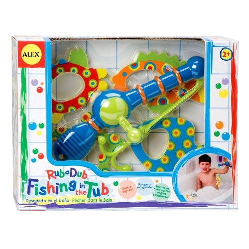 Image of Alex Rub-A-Dub - Fishing in the Tub Bath Toy