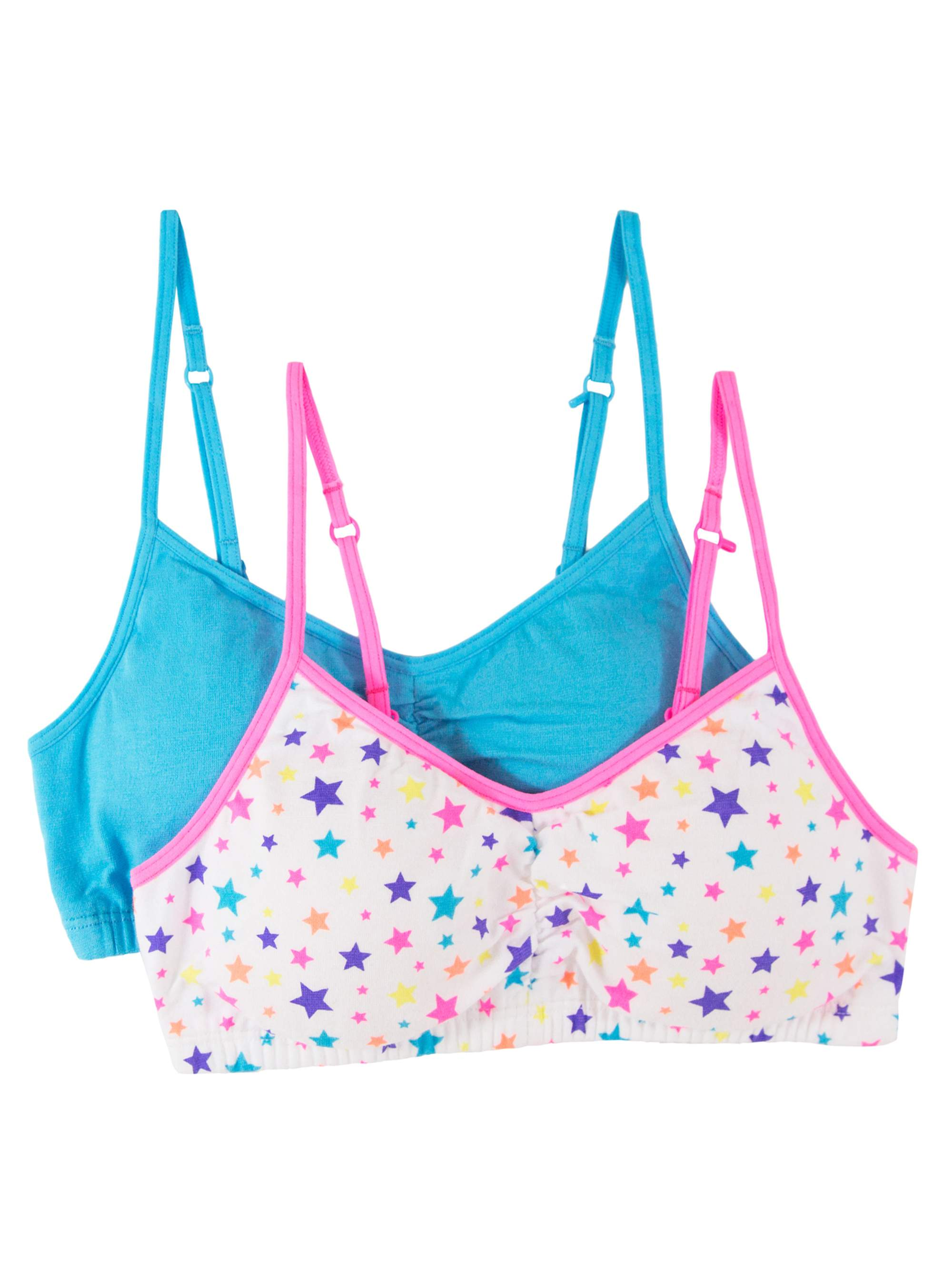 Fruit of the Loom Girls Bra with Removable Cookies