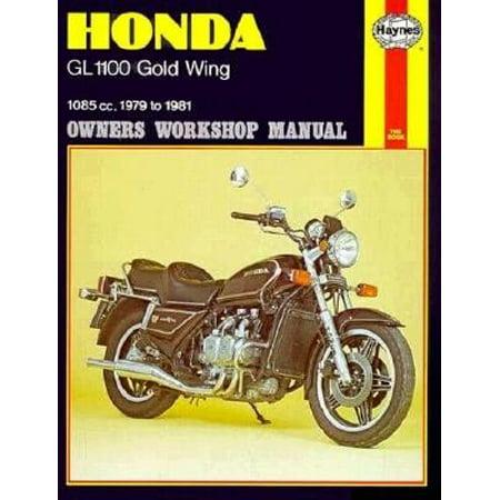 Honda Gl-1100 Goldwing Owners Workshop Manual, No. 669 : 1979 Thru 1981 ()