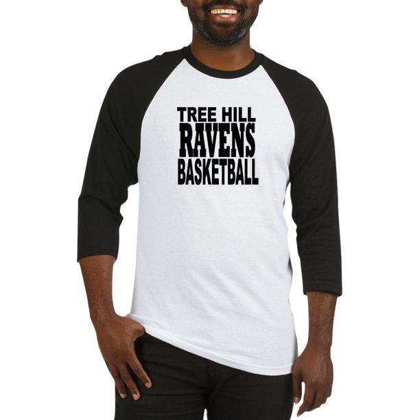 CafePress - One Tree Hill Ravens Baseball Jersey - Cotton Baseball Jersey, 3/4 Raglan Sleeve Shirt
