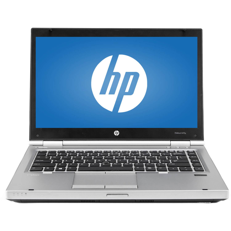 "Refurbished HP EliteBook 8470P 14"" Laptop, Windows 10 Pro, Intel Core i5-3320M Processor, 8GB RAM, 240GB Solid State Drive"