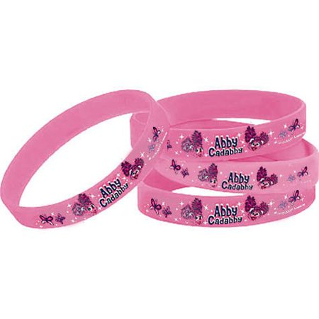 Abby Cadabby Wristbands / Favors (4ct)