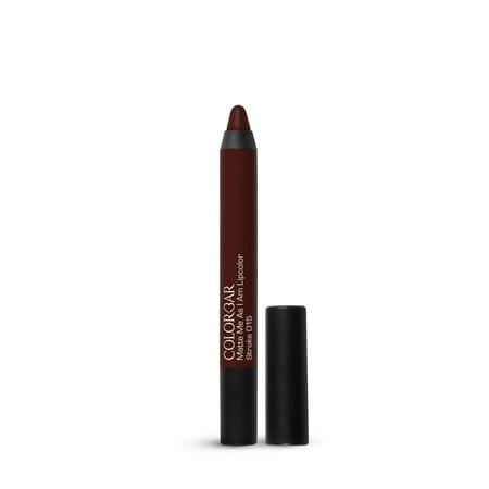 - Colorbar Cosmetics Matte Me As I Am Lipcolor, Stroke, 2.8g