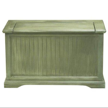 Hall Storage Bench Kahki Green